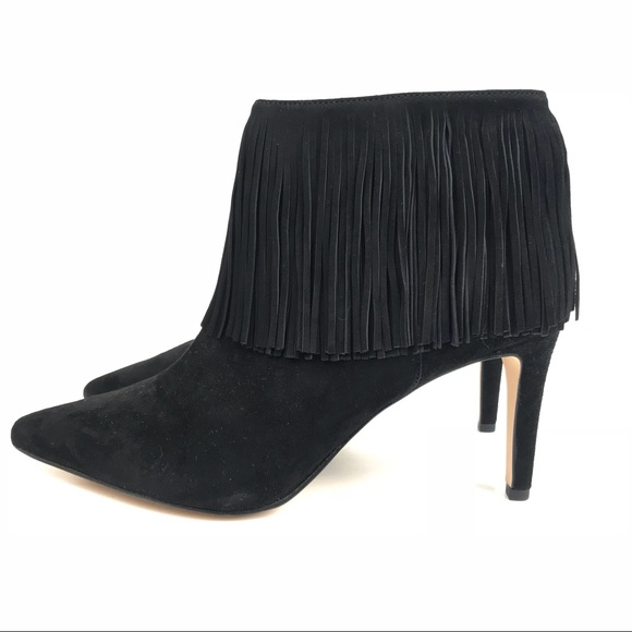 c1eab8918 Sam Edelman Kandice Fringe Ankle Bootie Black 7. M 5b7604c3153795dc8289cff6